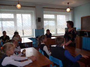 Дети слушают о профессии