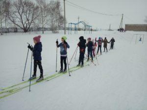 Мы катаемся на лыжах