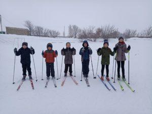 1,3 классы на лыжах